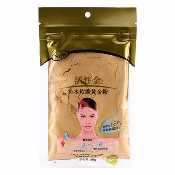 GOLD Collagen Active Face Mask Powder Scars Acne Control Anti-Aging Moisturizing Anti Wrinkle Face SPA Mask Treatment Skin Care