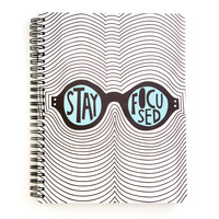 Rough Draft Mini Notebook - Stay Focused