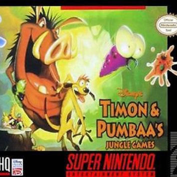 Disney's Timon & Pumbaa's Jungle Games  (Super NES, 1997)