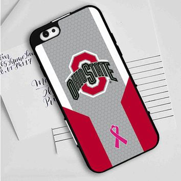 Ohio State Breast Cancer iPhone Case