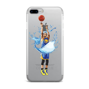 STEPH CURRY SPLASH THREES CUSTOM IPHONE CASE