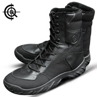 Brand CQB Sports Camping Hiking Boots Winter High Tactical Boots Male Shoes Outdoor Desert Combat Boots Sports Shoes SL0023