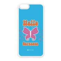 Sassy - Hello Gorgeous 10433 White Silicon Rubber Case for iPhone 6 by Sassy Slang