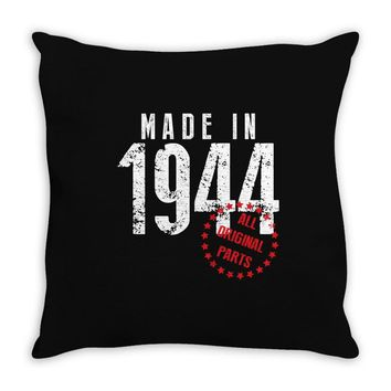 Made In 1944 All Original Parts Throw Pillow