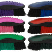 Saddles Tack Horse Supplies - ChickSaddlery.com Tough-1 Great Grips Stiff Bristle Brush