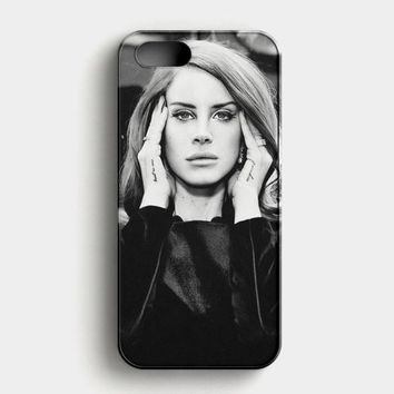 Lana Del Rey And Marina The Diamonds Photo Collage iPhone SE Case