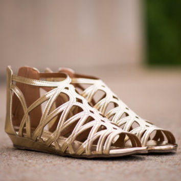 The Angie Sandal, Gold