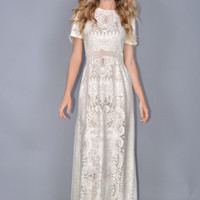 Aria Crochet Wedding Dress