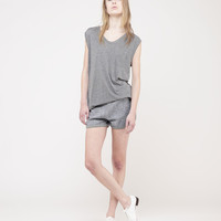 Classic Muscle Tee by T by Alexander Wang