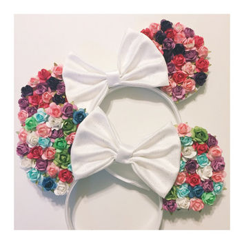 Multi-Colored Rose Mouse Ears