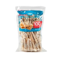 Jumbo Wooden Clothespins - pack of 100