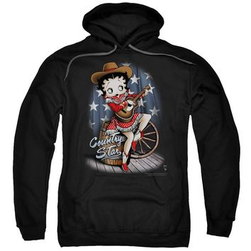 Betty Boop - Country Star Adult Pull Over Hoodie