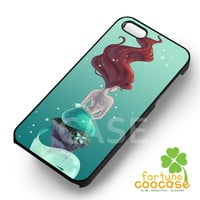 mermaid art under sea-1ny for iPhone 4/4S/5/5S/5C/6/ 6+,samsung S3/S4/S5,S6 Regular,S6 edge,samsung note 3/4