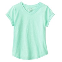 SO Solid V-Neck Tee - Girls' Plus, Size: