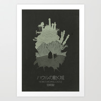 Howl's Moving Castle Art Print by OurbrokenHouse
