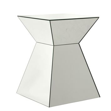 Mirror Glass Side Table | Eichholtz Pyramid