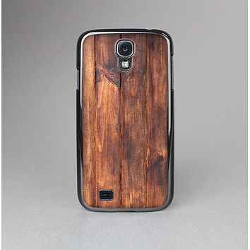 The Bright Stained Wooden Planks Skin-Sert Case for the Samsung Galaxy S4