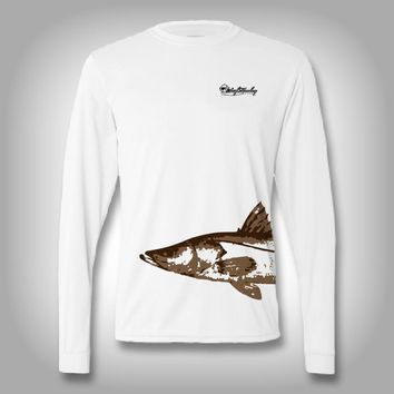 Fish Wrap Shirt - Snook - Performance Shirts - Fishing Shirt