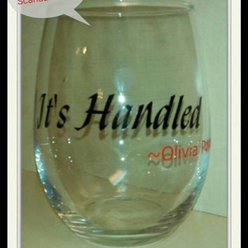 Scandal Stemless Wine Glass
