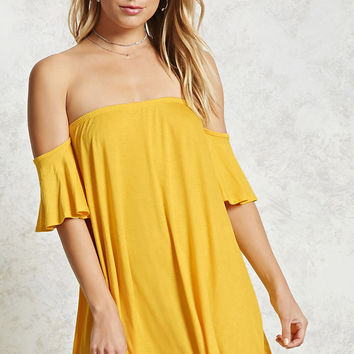 Off-the-Shoulder Mini Dress