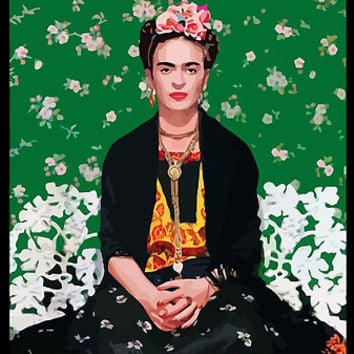 'FRIDA KAHLO' Poster by marketSPLA