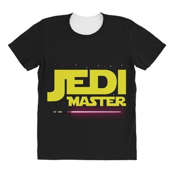 Jedi Master - Jedi In Training Family Matching All Over Women's T-shirt
