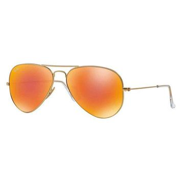 Kalete Ray-Ban Aviator Sunglasses - 55MM