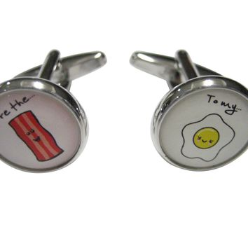 Youre The Bacon to My Eggs Cufflinks