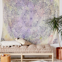 Sabrina Tie-Dye Medallion Tapestry | Urban Outfitters