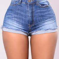 Cray Shorts - Medium Wash