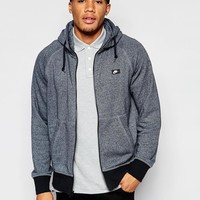 Nike | Nike AW77 Zip Up Hoodie with Shoebox Logo 678560-065 at ASOS