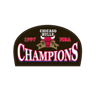 Logo Patch - Chicago Bulls 1997 Champions
