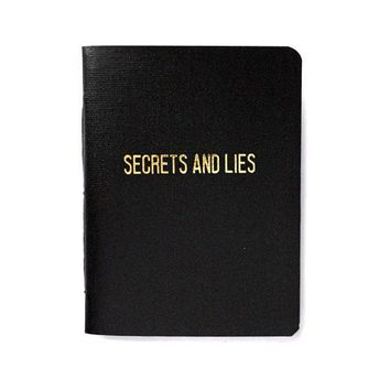 Secrets And Lies Memo Book