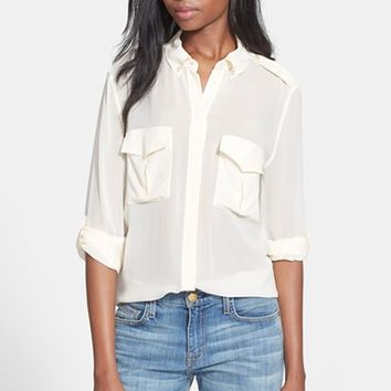 Women's Equipment 'Major' Silk Blouse,