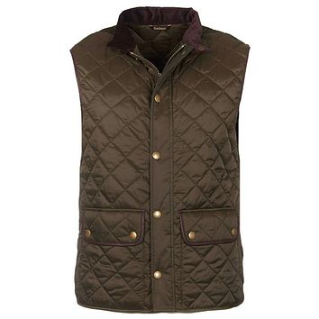 Tantallon Quilted Gilet in Olive by Barbour