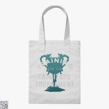 Training Triwizard Tournament, Harry Potter Tote Bag