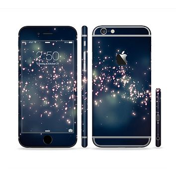 The Dark & Glowing Sparks Sectioned Skin Series for the Apple iPhone 6s Plus