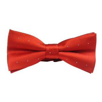Factory Price! Polka Dot Bowtie Silk Men Boys Self Bow Tie jacquard Wedding Formal Party Bowtie