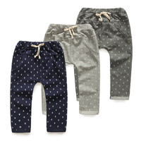 2014 autumn anchor boys clothing baby child long trousers casual pants children panties harem panties