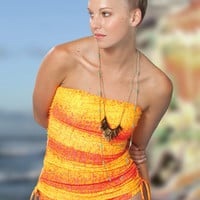 Gossip Swimwear Up The Amp Orange Bikini