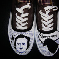 "Edgar Allen Poe ""The Raven"" Shoes"