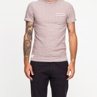 Native Youth Gingham Knit Double Face Tee