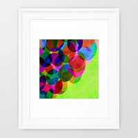 Up Framed Art Print by Miss L In Art