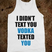 Vodka Text