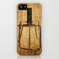 Mousetrap iPhonecase iPhone Case by Nicklas Gustafsson