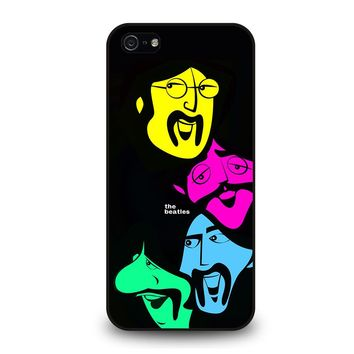 THE BEATLES DESIGN POSTER iPhone 5 / 5S / SE Case