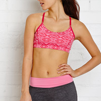 Low Impact - Tribal Print Sports Bra