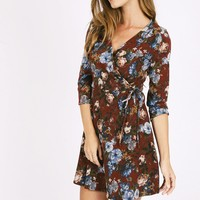 Waiting On You Floral Dress