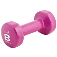 ZoN Pink Dumbbell, 8-Pound (Sold Individually)