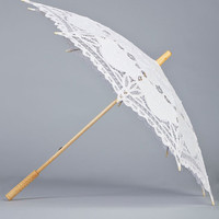ModCloth Vintage Inspired Fanciful Finery Parasol